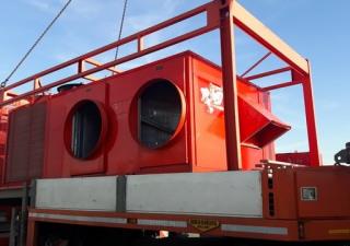 TRANE air handl EWKH 300