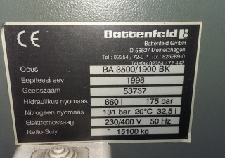Battenfeld 3500/1900 BK
