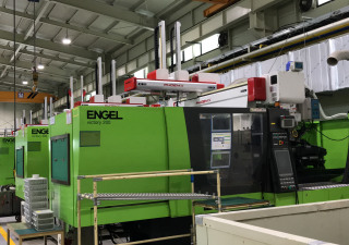 Used 18 sets of ENGEL and Korean Injection molding machines