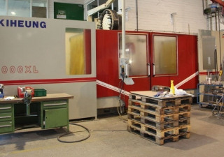 Kiheung U1000 CNC Bed-Type Milling Machine