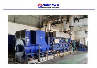 2 Sets x 2.5MW used Diesel/HFO Power Plant