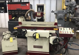 8'' Width 18'' Length Acer AGS-1020AHD, NEW 2003, 3-AXIS AUTOMATIC SURFACE GRINDER, AUTO IDF, EMC, COOLANT/DUSTCOLLECTOR, DRESSER