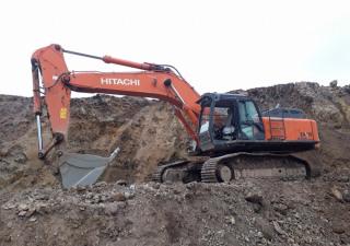 Used Hitachi ZX490 LCH-5A Crawler Excavator
