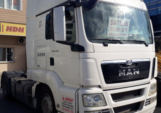 USED MAN TGS 18.400 4x2 TRACTOR UNIT FOR SALE