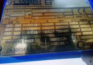Cantoni  37kw cantoni electric motor
