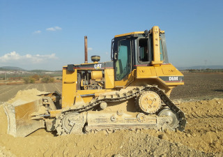 Used Caterpillar D6M XL Crawler Dozer
