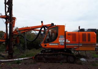 Used Tamrock Ranger K700 Rock Drill Rig
