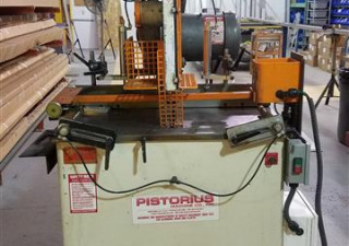 "Pistorius 20"" Pneumatic Saw for Cutting Aluminum and Wood"