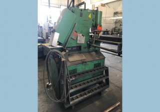 "Mubea HIW 50, 50 Ton Hydraulic Ironworker 4"" X 4"" X 3/8"""