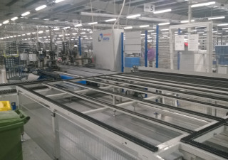 Sturtz Automatic Welding/Cleaning Line