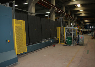 2008 Complete Lisec Insulating Glass Line Including Glass Cutting Line