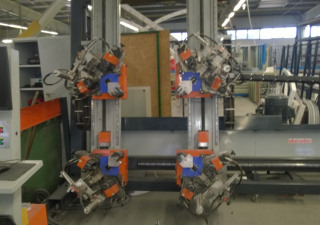 2008 Elumatec EP 424 4-Head Corner Crimping Machine