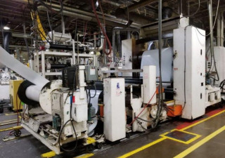 Gloucester Engineering sheet extrusion line