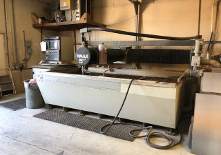Used Flame or waterjet cutter For Sale – Metalworking