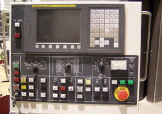 "TOSHIBA  TUE 20 90"" SWING, FANUC Oi-TC CNC Control, Elevating Cross rail, Chip Conveyor, High Guards, Under 200 Hours!"
