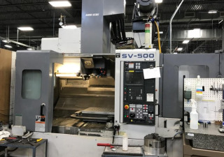 Mori Seiki SV-500/40 CNC Vertical Machining Center
