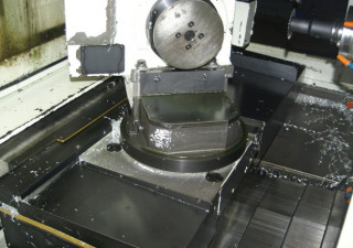 """KITAMURA SUPERCELL H300 15""""x16""""x15"""", 5-AXIS, FANUC 15M, 12K RPM SPINDLE, 20 PALLETS"""