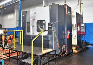 Okk Hm-100S Horizontal Machining Center, Year: 2005