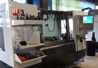 HAAS VF3 milling machine