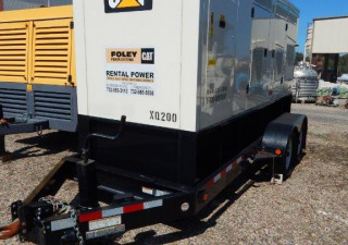 Caterpillar Portable Diesel Generator, Model Xq200, New In 2012