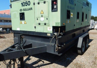1050 Cfm Sullair Mobile Package Air Compressor