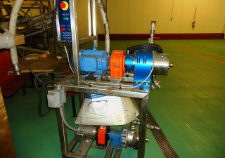 Sonic High Shear Colloid Mill With Pump