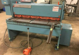 Used Power Squaring Shear | Niagara #1R4-10 Power Squaring Shear