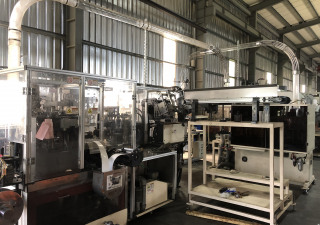 Used paper cup forming machine / ACE Pack Eagle-1000S