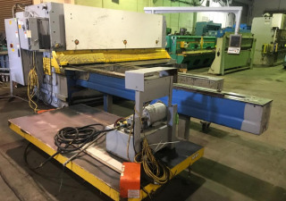 "Used Ermak 3/8"" X 10' Hydraulic Shear, Model Cnc Hvr 3100 10, 3/8"" X 10'"