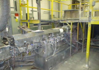50Mm Leistritz Co-Rotating Twin Screw Extruder 40/1 L/D