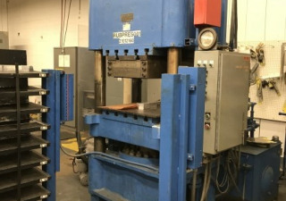 300 Ton Dunning & Boschert 4-Post Up-Acting Hydraulic Press