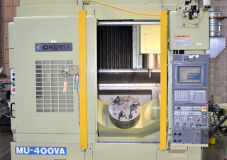 Mu-400Va Okuma Full 5-Axis Trunnion Style Cnc Vertical Machining Center