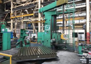 Scharmann Heavycut 1 ram type CNC floor borer