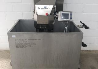 Newmix Lab style 500L heated paddle mixer