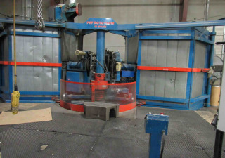 Used Fsp-M80-Ati 3 Arm Rotational Molding Machine