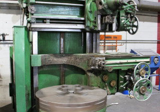 Used Bertram 40 Turret Type Vertical Turning Lathe Machine