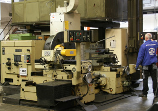 WMW Niles DP 1 Facing Lathe
