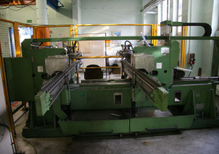Progress KBH 4849 Edge Deburring/Milling Machine