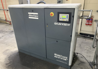 ATLAS COPCO GA30VSDFF Variable Speed Air Compressor with Dryer