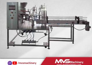 MVS Machinery Lid Feeding and Capping Machine