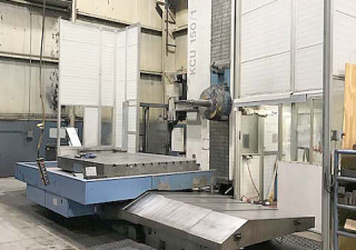 "6"" Union Planer Type Horizontal Boring Mill With Cnc Facing Head"