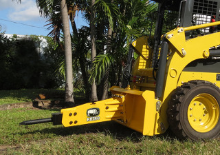 NEW RHINO 254SK HYDRAULIC HAMMER FOR ANY BRAND SKID STEER  ( CAT, BOBCAT, DEERE, RHINO )