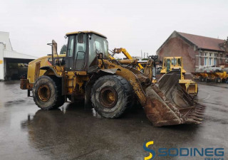 Wheel Loaders Caterpillar 966H Used