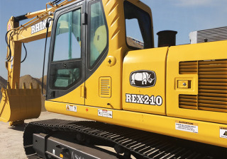 NEW RHINO REX210 EXCAVATOR ( CUMMINS ENGINE)