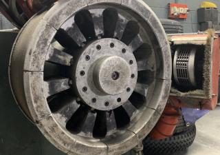 Tire retrading complete production line