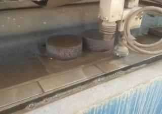 Water cutting machine MICRO LINE RT 2010