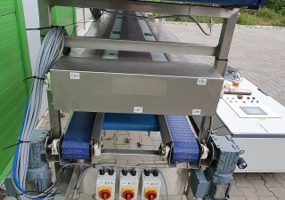 3-tier preparation conveyor Fruit and Vegetables