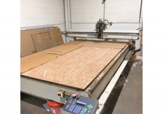 "Used Multicam Mg305 Cnc Router, 80"" X 144"" Table, New In 2000"