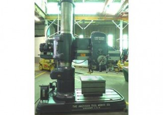 American Tool radial arm drill