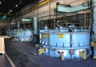 FURNACE LINE W/ (3) CARBURIZING FURNACES